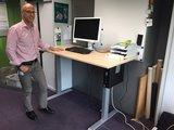 Zit sta bureau Steelforce 670 | kies voor een gezonde werkplek bezoek Worktrainer.nl