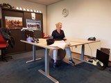 vluv velt bal 65 cm   ergonomische zitballen   blijf in beweging op werk   Worktrainer.nl