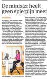 Deskbike in het nieuws | fietsen achter je bureau | Worktrainer.nl