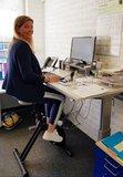 Fietsen en werken l Deskbike bureaufiets | Fiets je fit achter je bureau | Worktrainer.nl