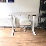 Sit-stand desk S670_