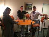Stand4Work vergaderen staand staan achter je bureau | ergonomisch kantoormeubilair | Worktrainer.nl
