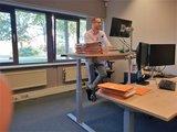 Sit-stand desk S470 - Memory display_