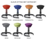 Kleuren zitting met Antraciet
