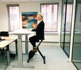 Steelforce 270 met Deskbike | kies voor een gezonde werkplek bezoek Worktrainer.nl