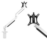 Monitorarm wit | accessoires voor je werkplek bezoek Worktrainer.nl