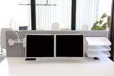 Akoestisch tussenschot bureaus alle accessoires bij je zit-sta bureau koop je online bij Worktrainer.nl