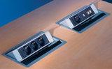 Coni inbouwstekkerblok | accessoires voor je werkplek bezoek Worktrainer.nl