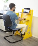 Flip Desk geel