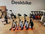 Deskbike's parkeren | kies voor een gezonde werkplek bezoek Worktrainer.nl