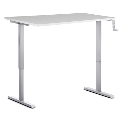 Sit-stand desk S210 - Manual crank