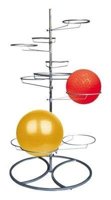 Chair ball rack