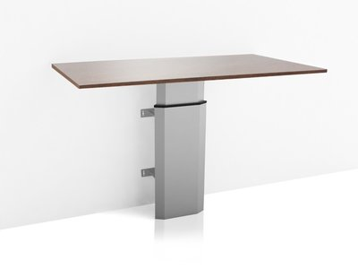 Sit-stand wall table 501/7S
