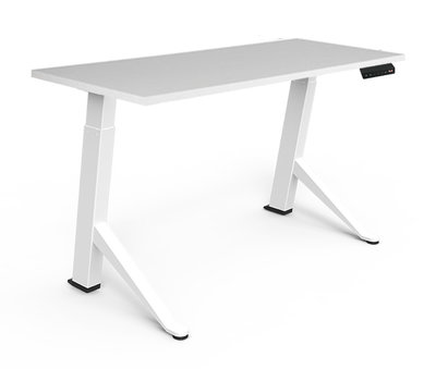 Y base sit-stand desk