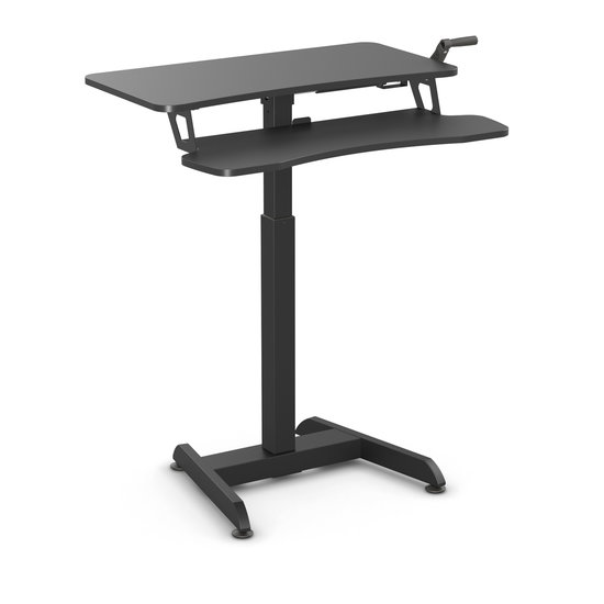 DEMO - Small Manual Sit-Stand Desk - Updesk High