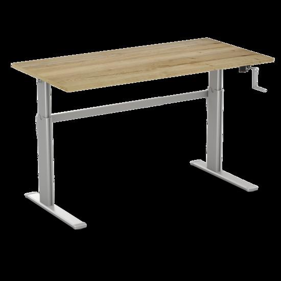 Manual Sit-Stand Desk - AluForce 110