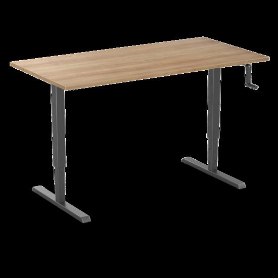 Manual Sit-Stand Desk - SteelForce210