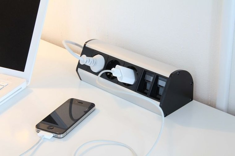 Mounting unit - Office Power Dock
