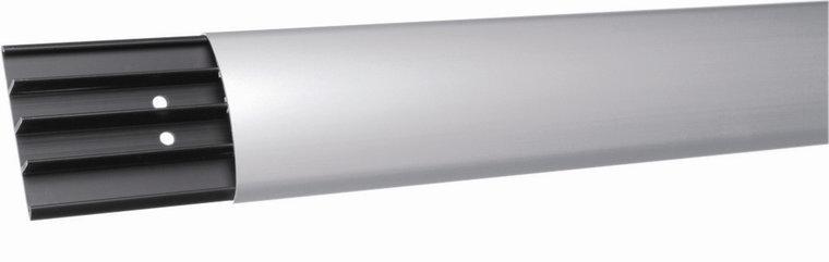 Floor duct aluminium with plastic