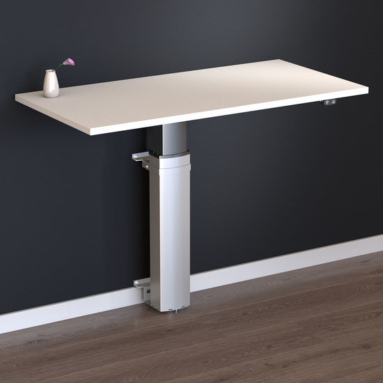 Electric Sit-Stand Table - Conset 501/19 Wall