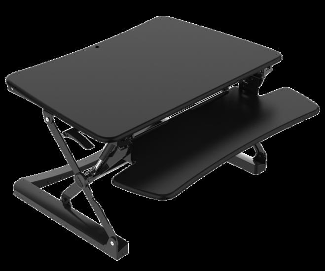 Gas Spring Sit-Stand Desk Converter - UPdesk XL