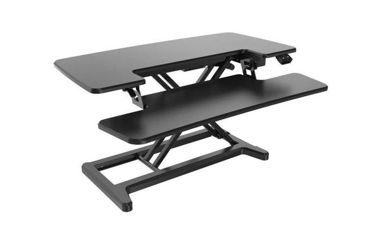 Electric Sit-Stand Desk Converter - Updesk Cross