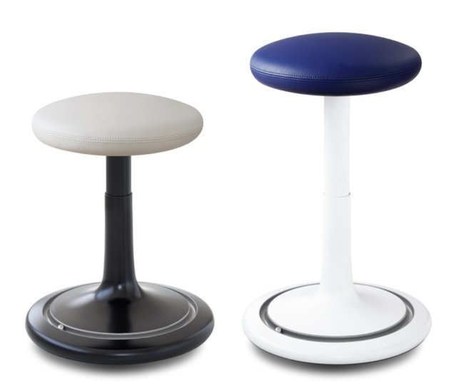 Sit-Stand Balance Stool - Ongo Classic Tall - Leather