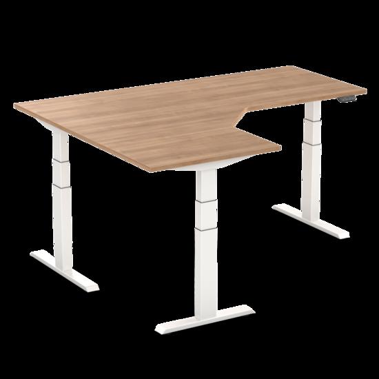 Electric Sit-Stand Corner Desk - SteelForce 671