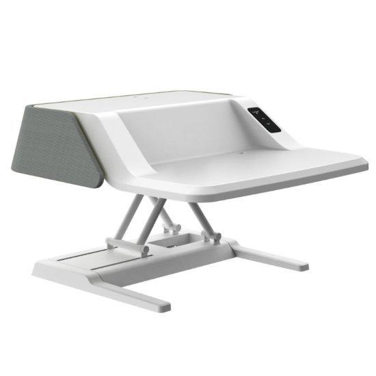 Stylish Electric Sit-Stand Desk Converter - Flexdesk