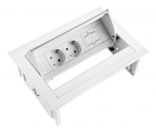 Built-in unit Power Desk In