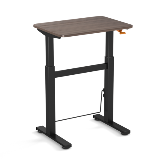 Small Gasspring Sit-Stand Desk - BouncyDesk