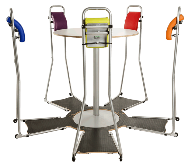 Standing chairs - Stand4Work Meeting set