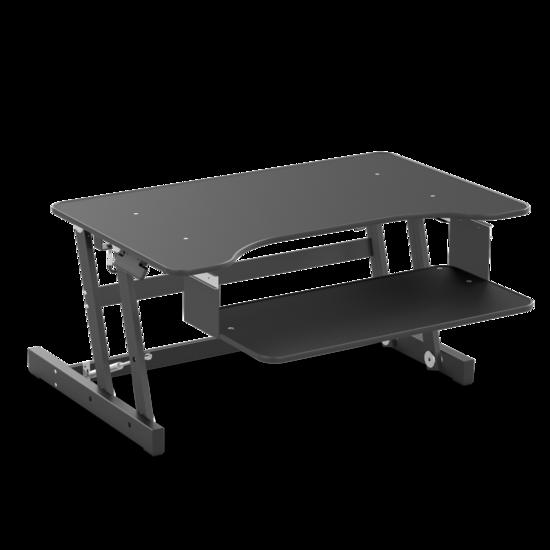 DEMO - Gas Spring Sit-Stand Desk Converter - UPdesk Basic