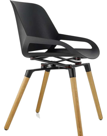 DEMO - Active design chair - Numo with Wooden legs