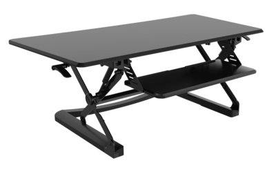 Updesk XL Zit-sta verhoger Workstation | Gezond werken met ergonomisch kantoormeubilair | Worktrainer.nl