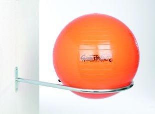 zitbal wandbeugel opbergen   accessoires voor je werkplek bezoek Worktrainer.nl