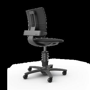 Bureaustoel Leer 3Dee stoel | actieve beweegstoelen bezoek Worktrainer.nl