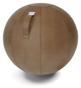 vluv-veel-cognac-detail | ergonomische zitballen | blijf in beweging op werk | Worktrainer.nl