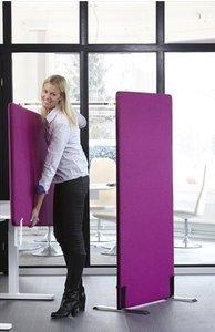 vloerscherm tussenwand Worktrainer.nl