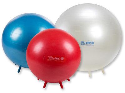 Sit 'n' gym zitball officeball actief meubliair kantoorbal worktainer.nl worktrainer.com