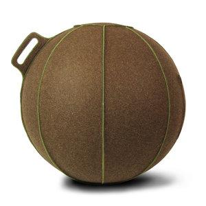 vluv-velt-brown-green   ergonomische zitballen   blijf in beweging op werk   Worktrainer.nl