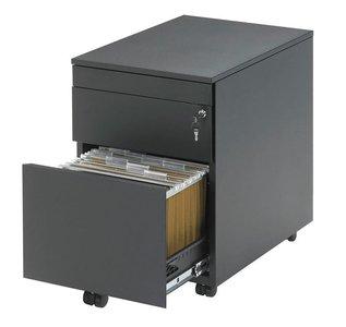 ladenblok 2 lades | accessoires voor je werkplek bezoek Worktrainer.nl