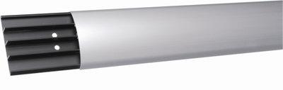 Vloergoot aluminium kunststof | accessoires voor je werkplek bezoek Worktrainer.nl