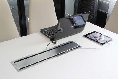 Inbouw Bi-box large | accessoires voor je werkplek bezoek Worktrainer.nl