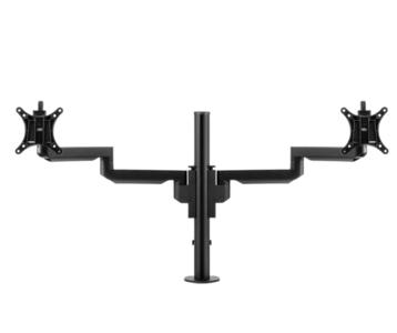 Galaxy Dubbel zwart | accessoires voor je werkplek bezoek Worktrainer.nl