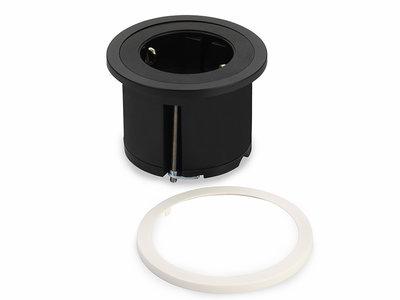 Pix oplegranden zwart en wit | accessoires voor je werkplek bezoek Worktrainer.nl